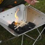 バーベキューの炭の着火方法を紹介!組み方や置き方に秘密が?
