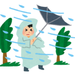 暴風警報の基準は風速何m?強風注意報との違いは?