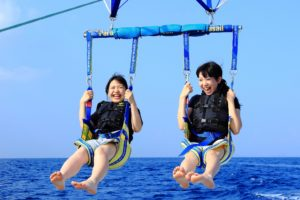 浜名湖パラセーリング