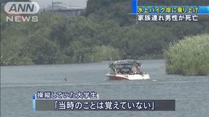 水上バイク事故