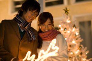 クリスマスデート昼間
