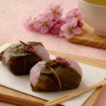 桜餅の葉っぱの種類は?食べていいものといけないものがありマナー的には?