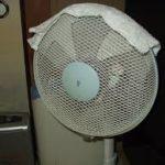 扇風機の風を冷たくする方法の裏技は?手順や必要なものは?