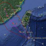 台風の進路の予想の方法や仕方を簡単にわかりやすく説明!