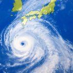 台風の多い月は何月?いつからいつまでの季節や時期にくる?