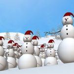 雪だるまの作り方!目や手や顔などの全体の作り方の手順!